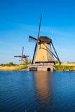 Molens van Kinderdijk. In the Netherlands Royalty Free Stock Photography
