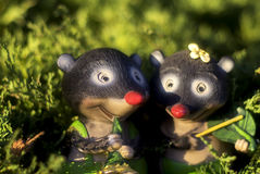 Moles Royalty Free Stock Photos