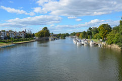 Molesey River Thames Stock Images