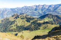 Moleson Vue alpes Montagne Paysage images stock
