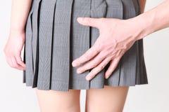 molester Imagen de archivo libre de regalías