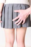 molester Fotografie Stock Libere da Diritti