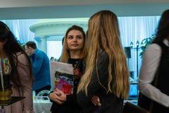 Molestia de la boda una exposición en Kirov Rusia imagen de archivo