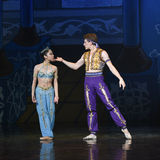 """Molesting tease- ballet """"One Thousand and One Nights"""" Stock Images"""