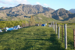 molesworth nowy malowniczy dolinny Zealand Obraz Stock