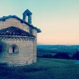 Moleto hill. Fantastico posto in Italia Stock Image