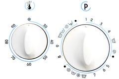 Molette rotatoire de rondelle de vêtements Photos libres de droits