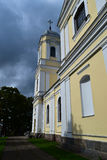 Moletu St. Peter and Paul Church. In Lithuania stock image