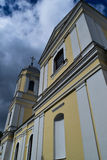 Moletu St. Peter and Paul Church. In Lithuania stock photography