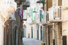 Molfetta, Apulien - lebend wie die Bürger von Molfetta im M stockfotos