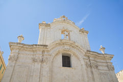 Molfetta Cathedral. Apulia. Stock Photos