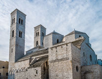 Molfetta Cathedral Royalty Free Stock Photos