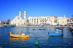 Molfetta, Italia Fotografía de archivo
