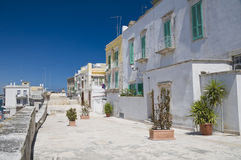Molfetta Oldtown. Apulia. Royalty Free Stock Photos