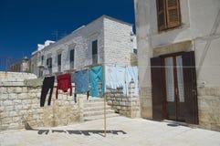 Molfetta Oldtown. Apulia. Stock Image