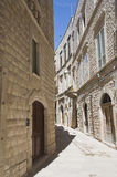 Molfetta Oldtown. Apulia. Royalty Free Stock Images