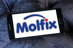 Molfix diapers manufacturer logo Stock Photography