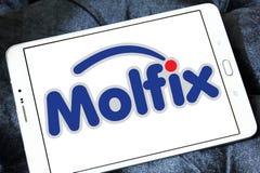 Molfix diapers manufacturer logo Royalty Free Stock Photos