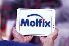 Molfix diapers manufacturer logo Stock Images