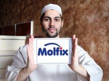 Molfix diapers manufacturer logo Stock Photo