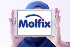 Molfix diapers manufacturer logo Royalty Free Stock Photography