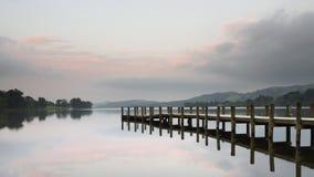 Molhe da água de Coniston Fotografia de Stock Royalty Free