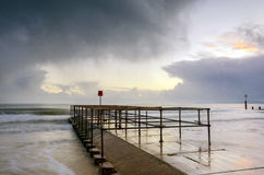 Molhe de Bornemouth Fotografia de Stock