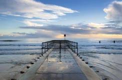 Molhe de Boscombe Imagem de Stock Royalty Free