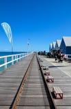 Molhe de Busselton, Busselton, Austrália Ocidental Fotos de Stock Royalty Free