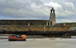 Molhe de Logan, Dumfries e Galloway portuários, Scotland foto de stock