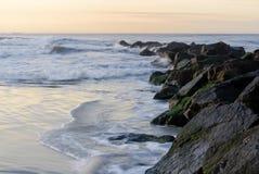Molhe de Long Beach Imagem de Stock