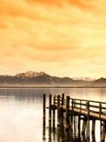 Molhe de madeira (133) Imagem de Stock Royalty Free