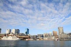 Molhe de Nakatottei em Kobe, Hyogo imagem de stock royalty free