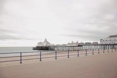 Molhe em Eastbourne, Reino Unido Imagem de Stock Royalty Free
