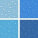 Gotas da água. Imagem de Stock
