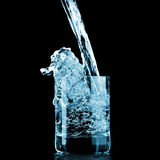 Molhe no vidro Imagem de Stock Royalty Free