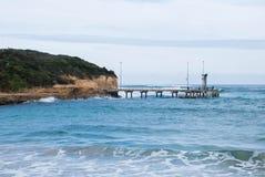 Molhe, porto Campbell, Victoria, Austrália Imagens de Stock