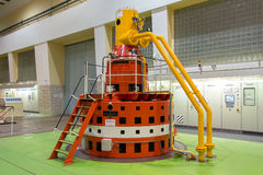 Molhe a turbina Foto de Stock Royalty Free
