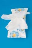 Molhe wipes Fotos de Stock