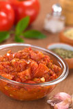 Molho caseiro do tomate Imagens de Stock Royalty Free
