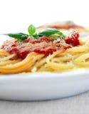 Molho da massa e de tomate Imagens de Stock Royalty Free