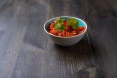 Molho da salsa Fotografia de Stock