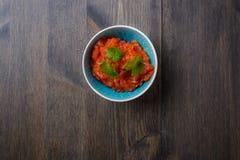 Molho da salsa Fotografia de Stock Royalty Free