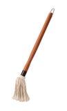 Molho de assado que rega o espanador com um punho de madeira Imagem de Stock