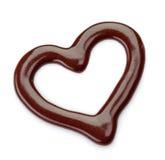 Molho de chocolate doce Imagem de Stock Royalty Free
