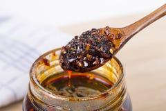 Molho de pimentão do estilo chinês Foto de Stock