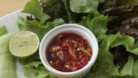 Molho de pimentões tailandês Fotos de Stock