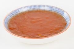Molho doce do pimentão Fotos de Stock Royalty Free