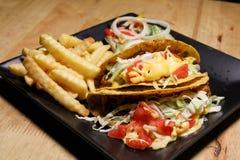 Molho Mexican American Tailândia do estilo do taco Foto de Stock Royalty Free