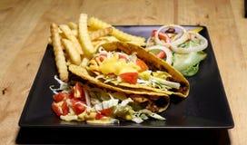 Molho Mexican American Tailândia do estilo do taco Fotografia de Stock Royalty Free